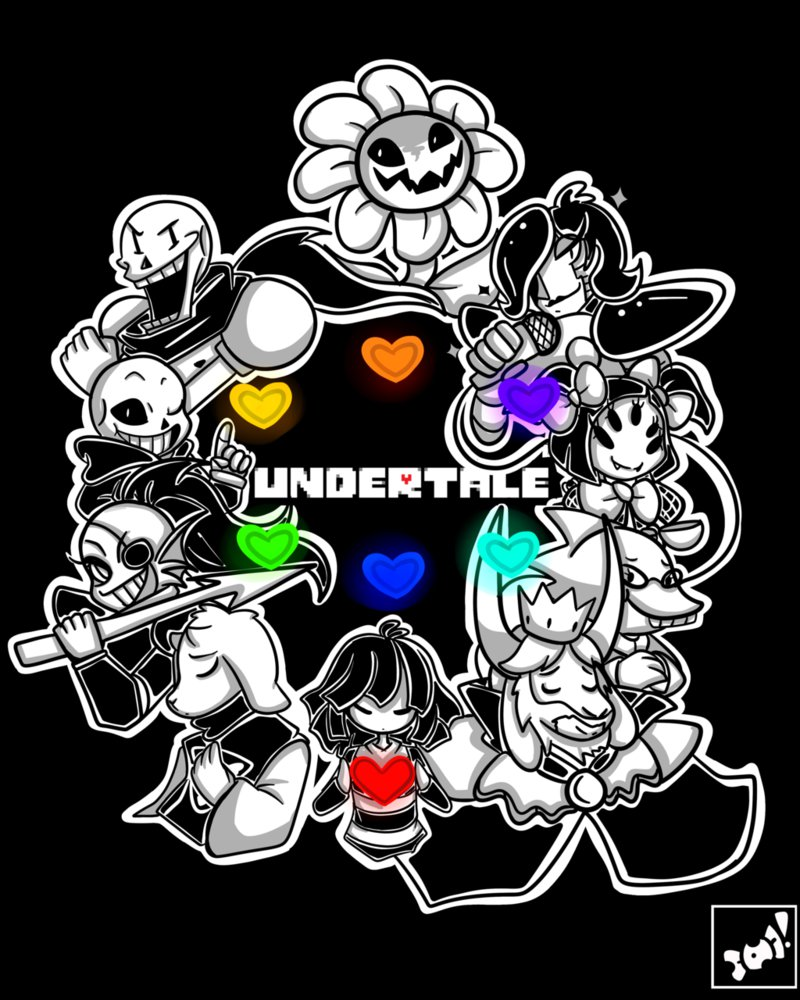Undertale by wearepopcandies 800x1000