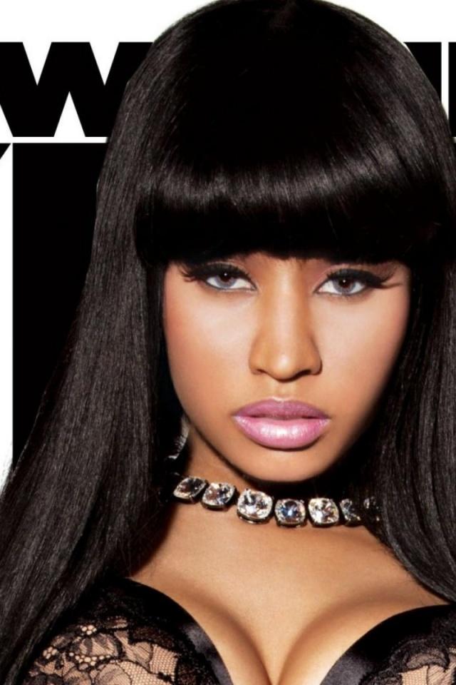 640x960 Nicki Minaj Close up Iphone 4 wallpaper 640x960