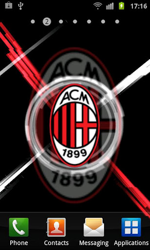 AC Milan 3D Live Wallpaper is an animated wallpaper app The best AC 307x512