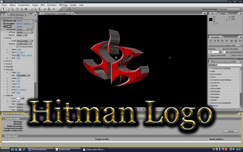 Hitman Logo Moving 1440x900