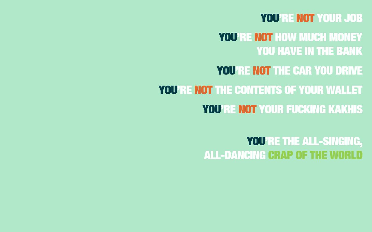 Chuck Palahniuk Quotes 11   1920 X 1080   Inspirational e quotescom 1280x800
