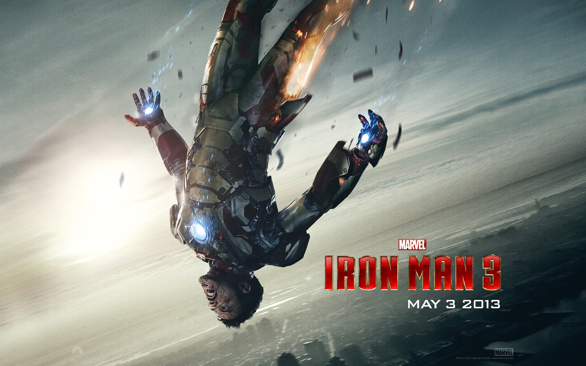 Tony Stark in Iron Man 3 Wallpapers HD Wallpapers 1920x1200
