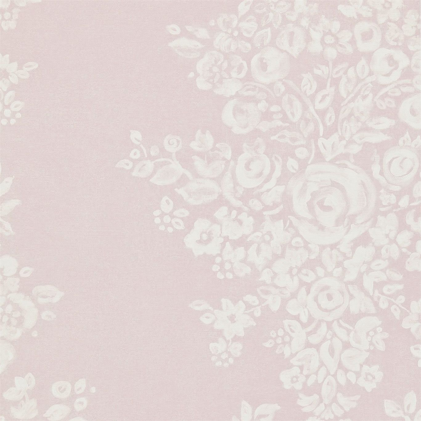 Cream   212856   Freya   Floral Damask   Madison   Sanderson Wallpaper 1366x1366