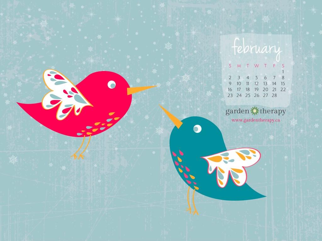 February Calendar Desktop Download Wallpapers For 1024x767