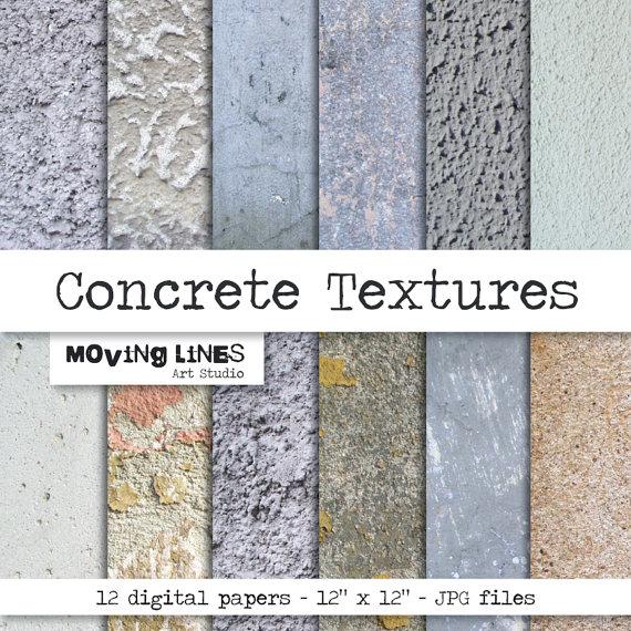 Distressed Stone Digital Paper Stucco Wallpaper Plaster Wall 300 dpi 570x570