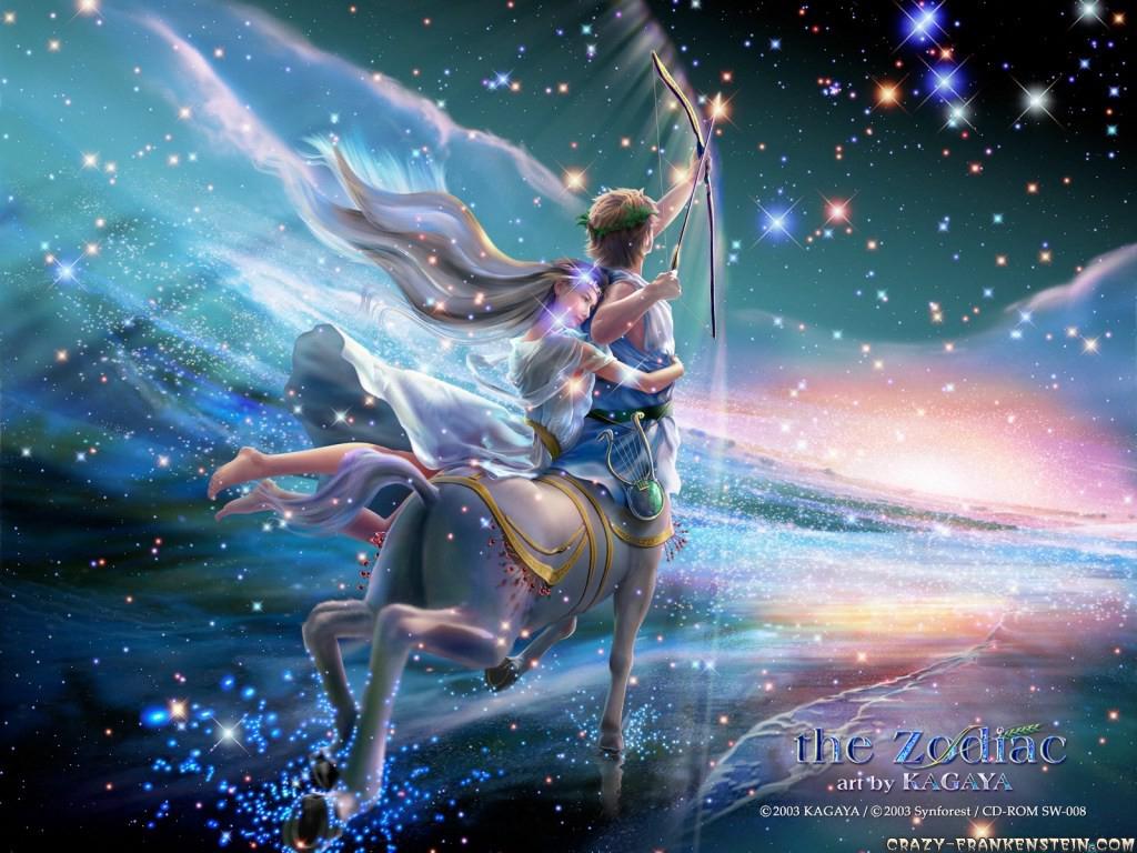 Wallpaper Zodiac signs   Sagittarius wallpaper 1024x768