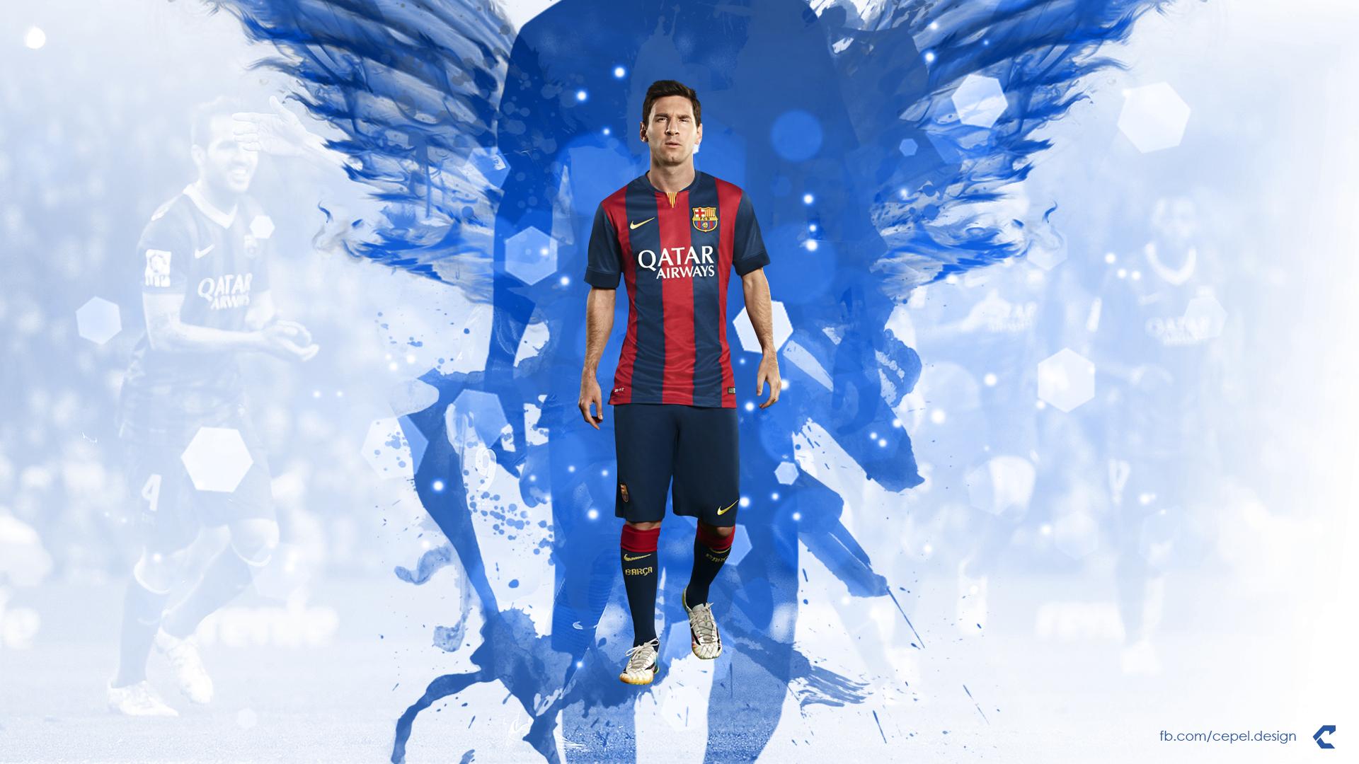 Footballer Lionel Messi HD wallpapers 1920x1080