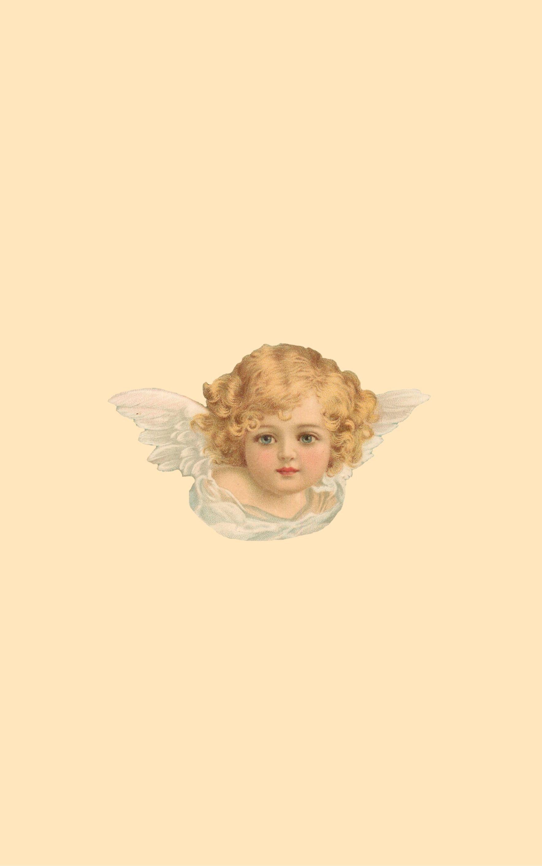 cherub wallpaper made by moi Angel wallpaper Art Art wallpaper 1768x2827