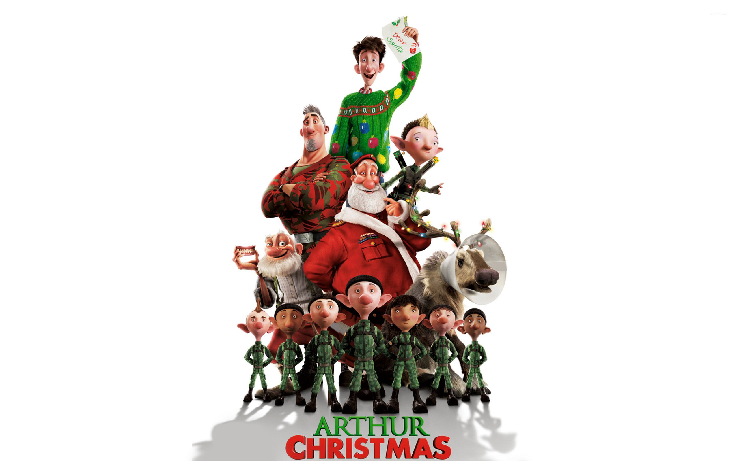 15 Arthur Christmas HD Wallpapers Background Images   Wallpaper 2560x1600