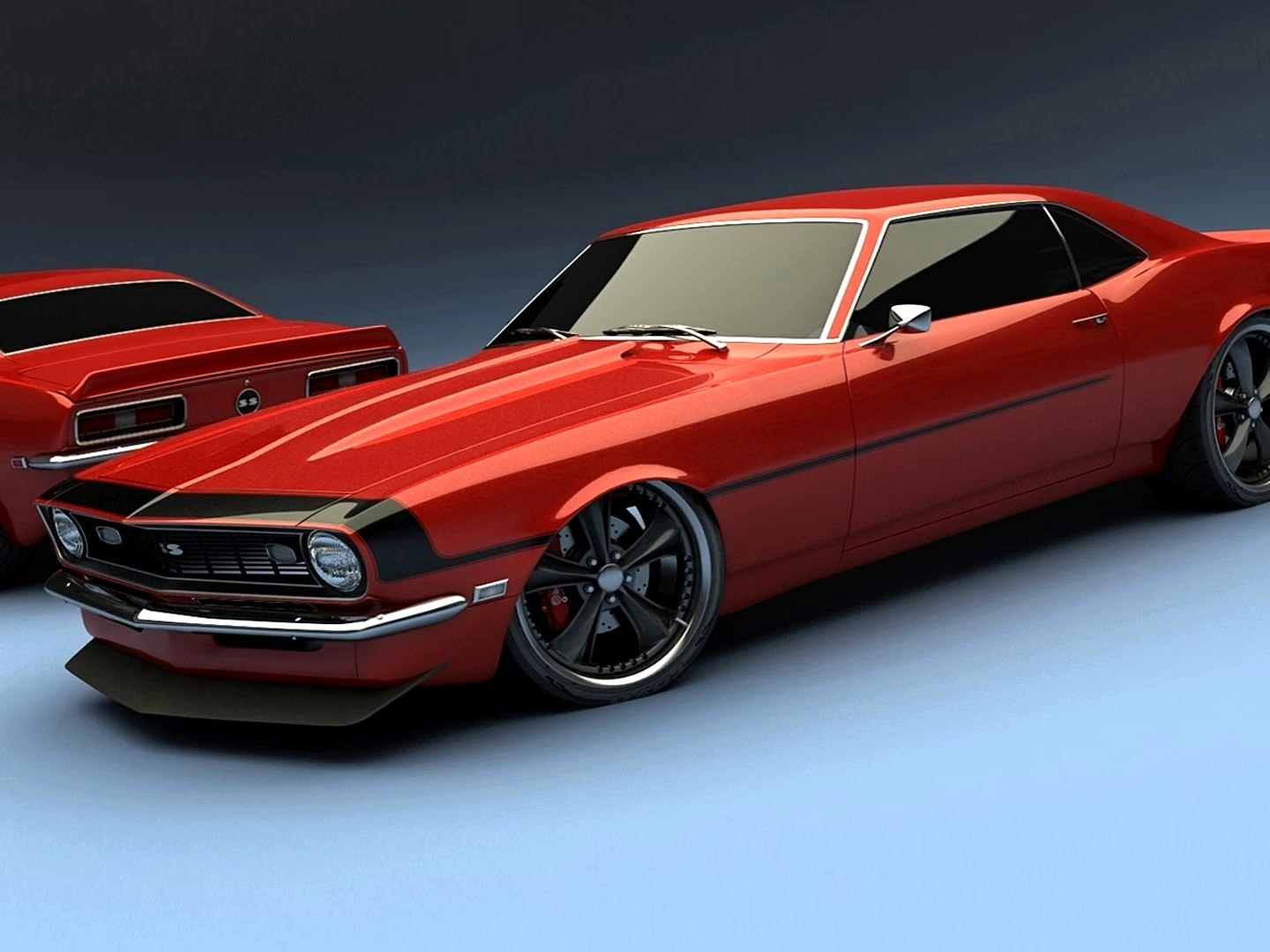 Chevrolet Camaro SS 1969 Wallpapers HD Download 1440x1080