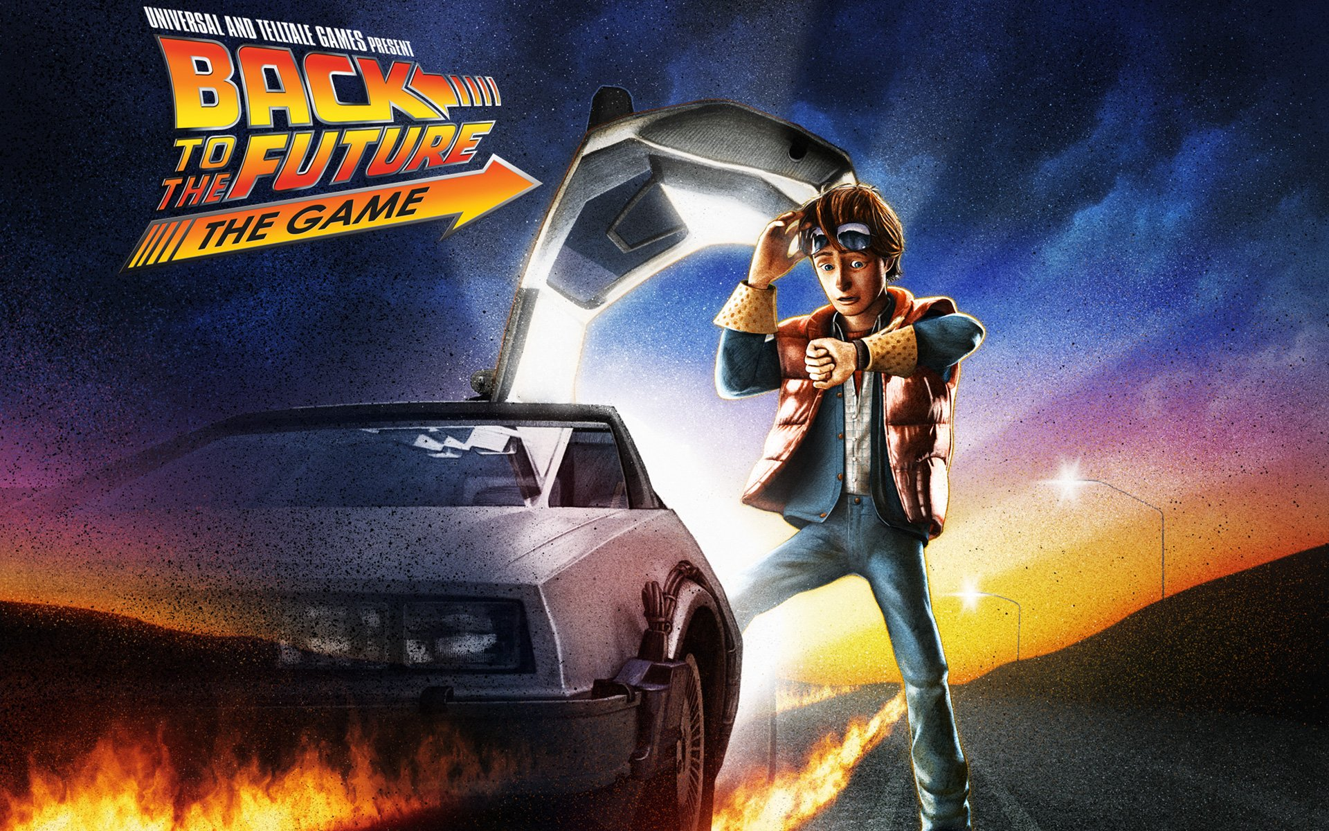 Back to the Future The Game Wallpaper in 1920x1200 1920x1200