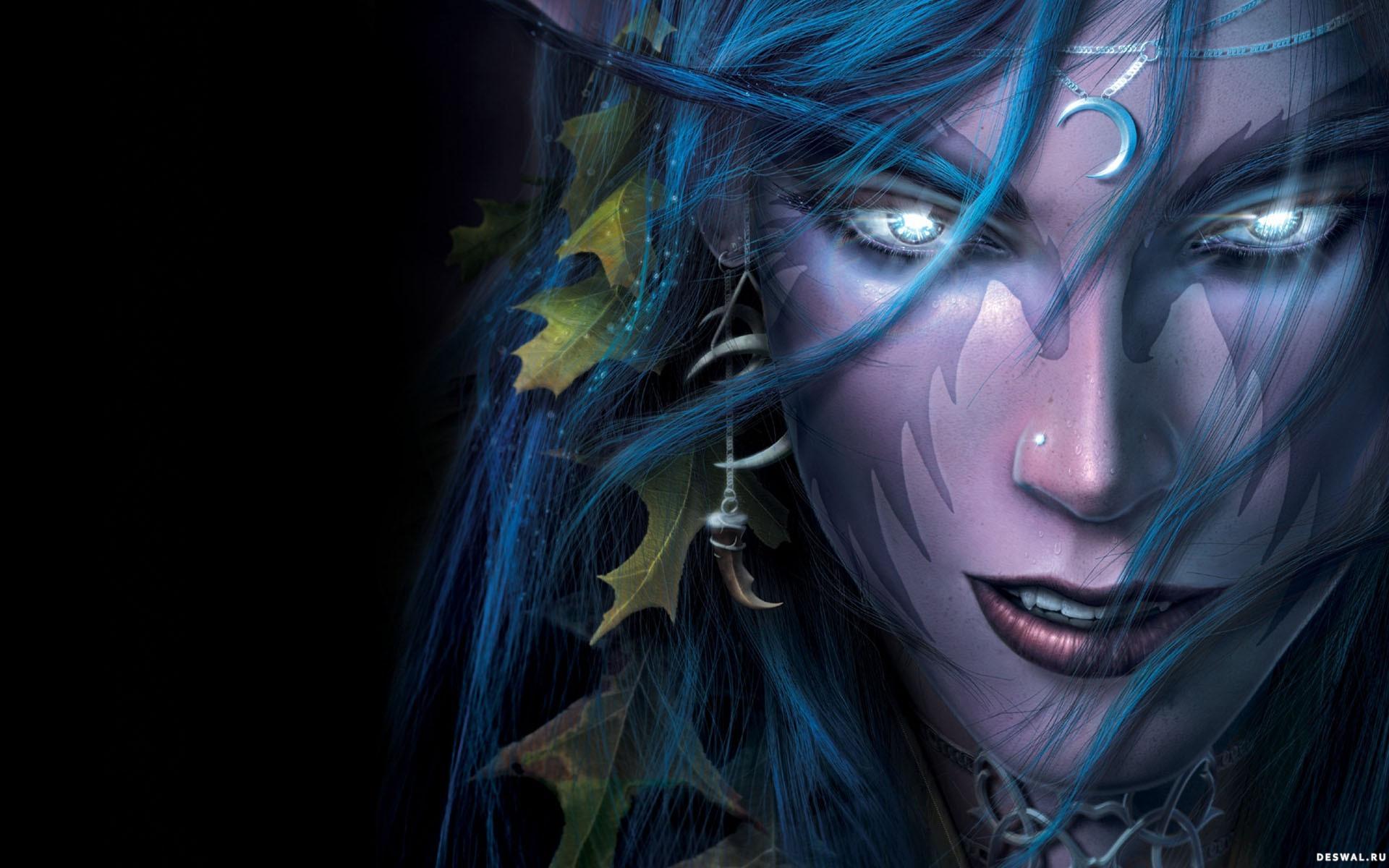 Download wallpaper dark elf elf woman dark elf wallpaper 1920x1200