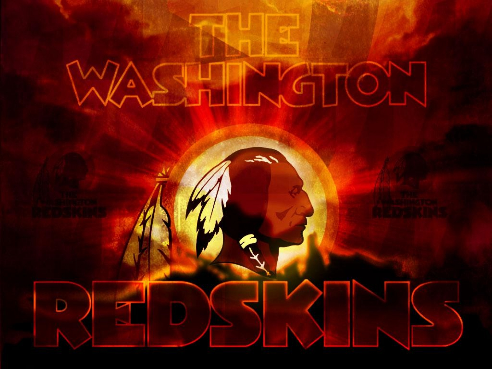 RedSkins HD Background Wallpaper HD Wallpapers HD Backgrounds 1600x1200