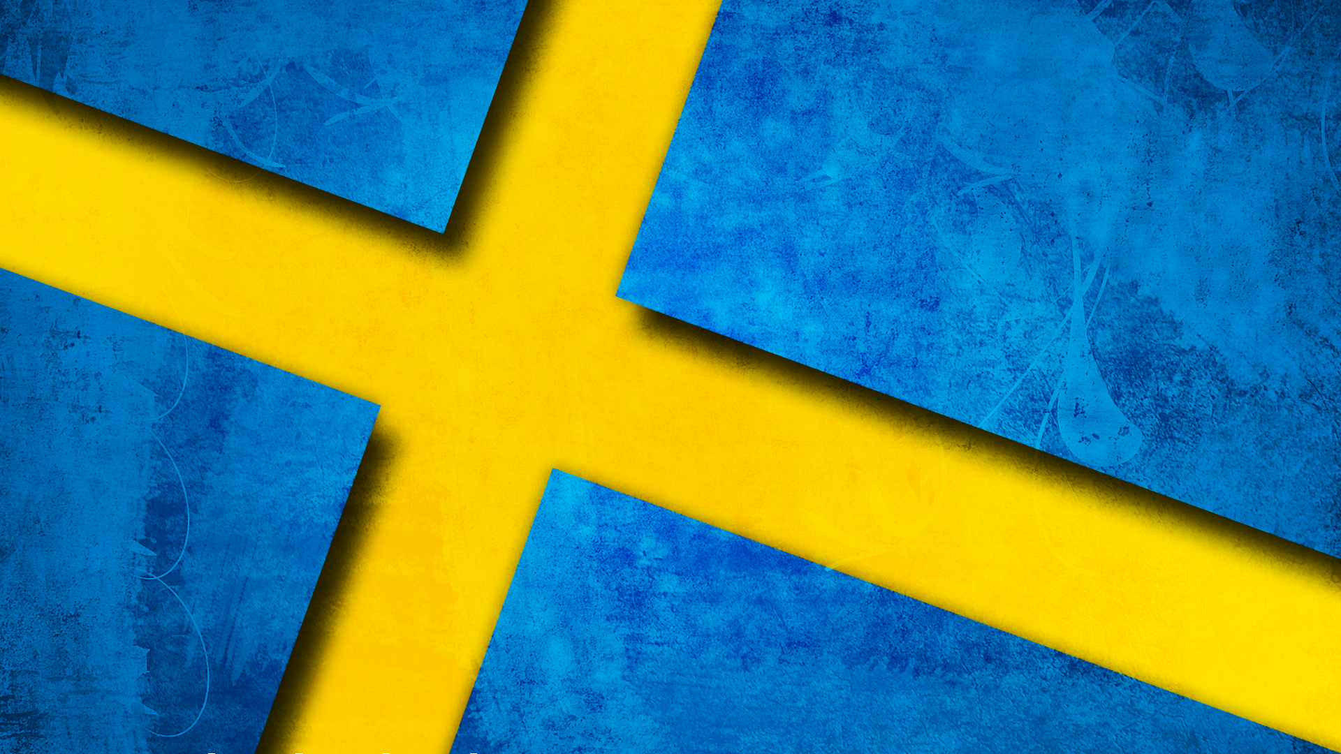 Swedish Flag Background by Luckmann 1920x1080