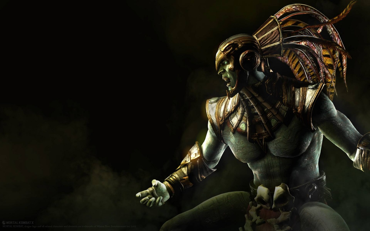 Kotal Kahn Mortal Kombat X Wallpapers HD Wallpapers 1280x800