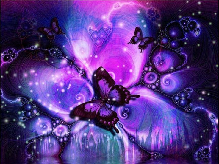 73+ Purple Butterfly Backgrounds on WallpaperSafari