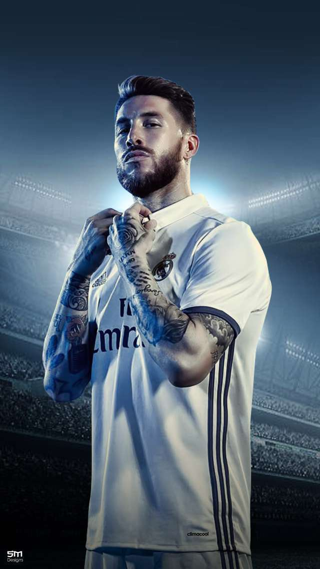 Latest sergio ramos wallpaper   Background Image HD 640x1136