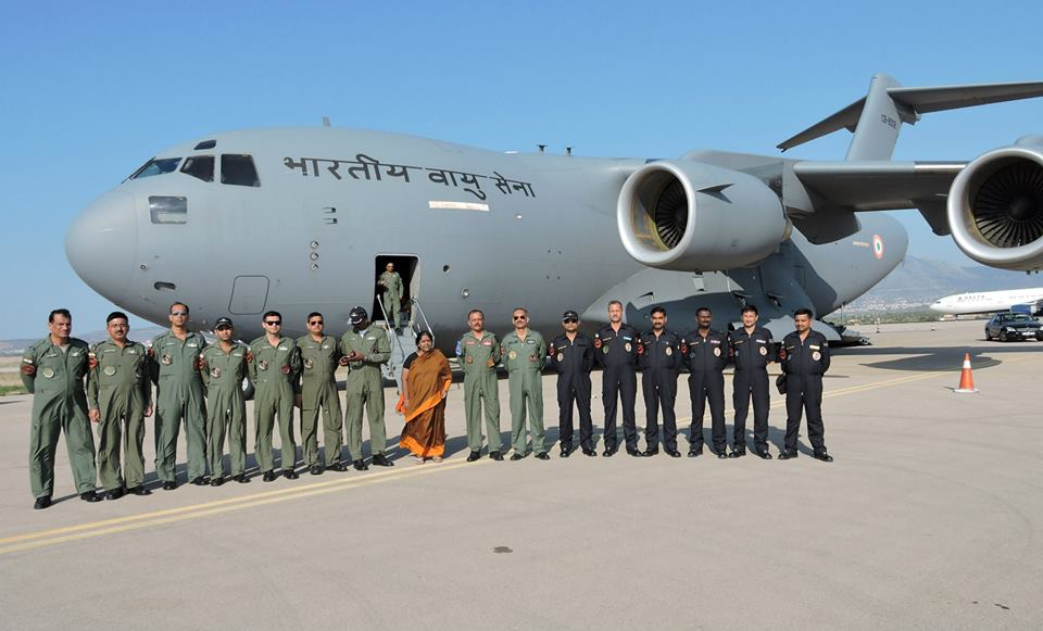 Indian Airforce images of Independence day 2015 in India 960x581