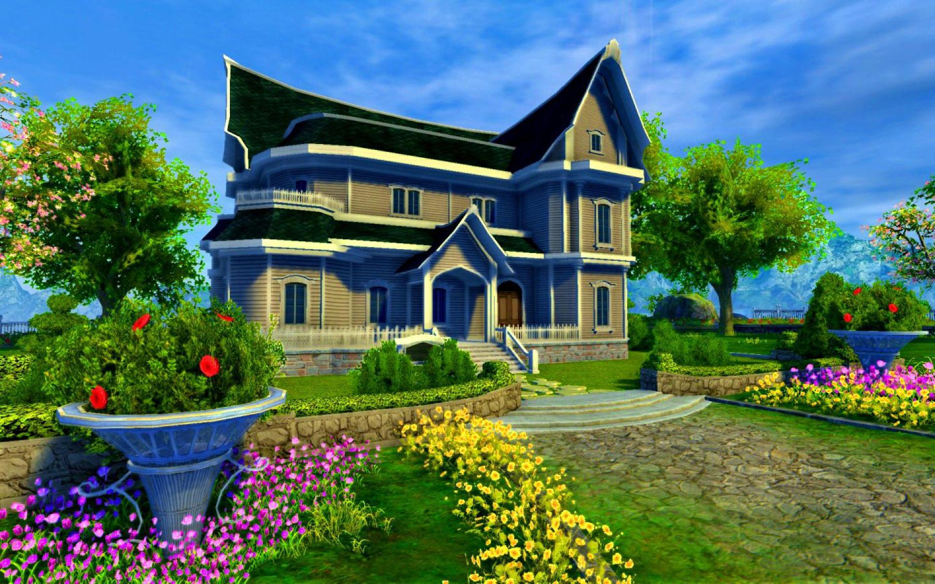 Dream home wallpaper wallpapersafari for Wallpaper for house wall