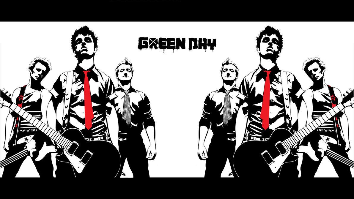 Green Day Wallpaper 2012