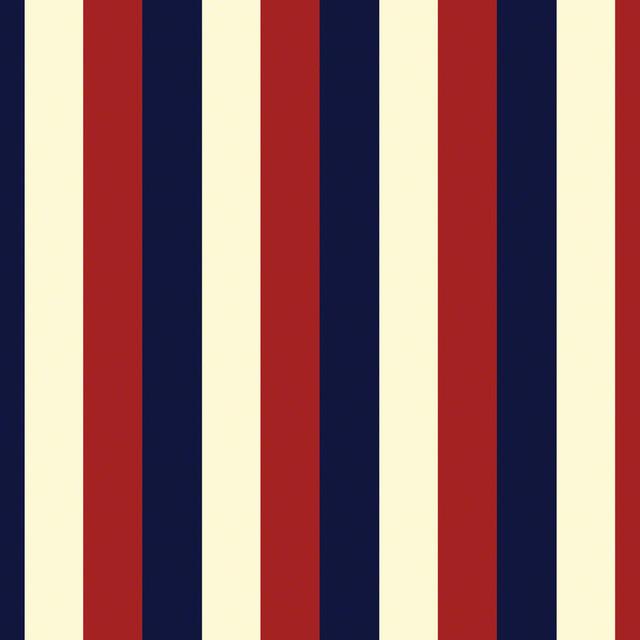 Americana Stripes Removable Wallpaper   Wallpaper   by WallCandy Arts 640x640