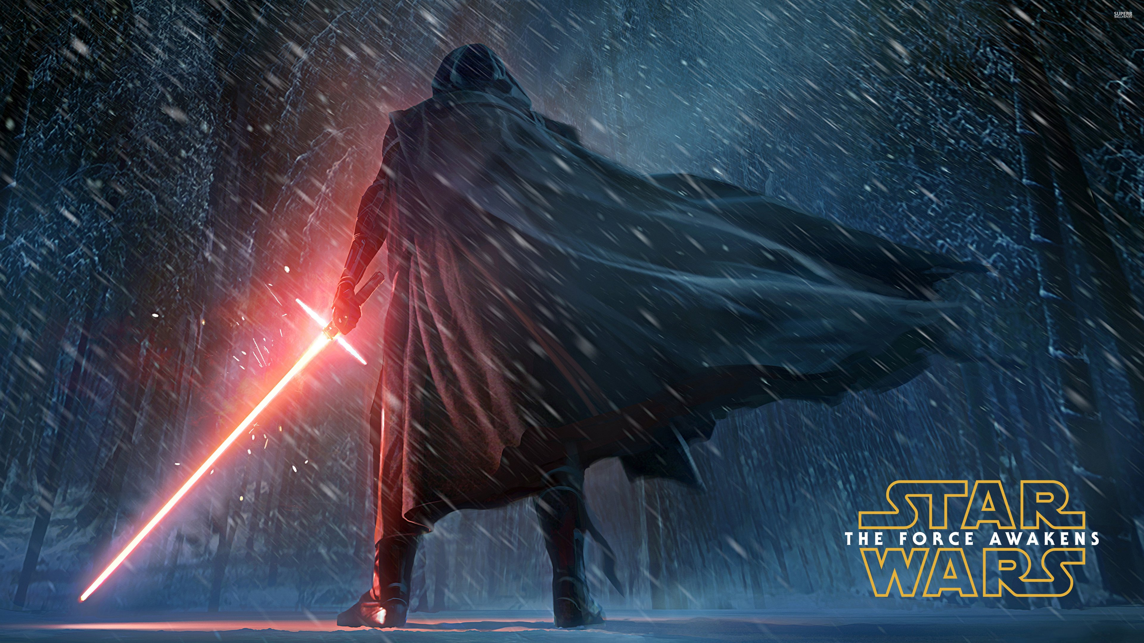 Kylo Ren Star Wars wallpaper HD background download desktop 3840x2160