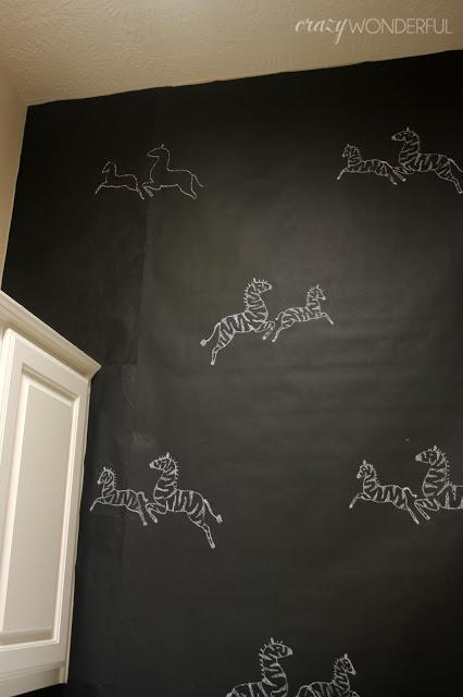 Crazy Wonderful DIY temporary wallpaper 426x640
