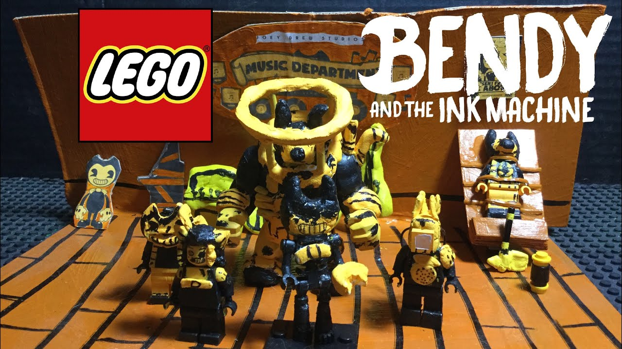 lego bendy and the ink machine beast bendy Download Wallpaper 1280x720