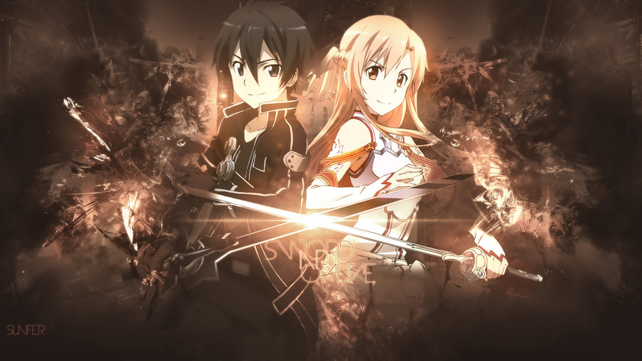 Wallpaper Sword Art Online HD By Sl4ifer 900x506