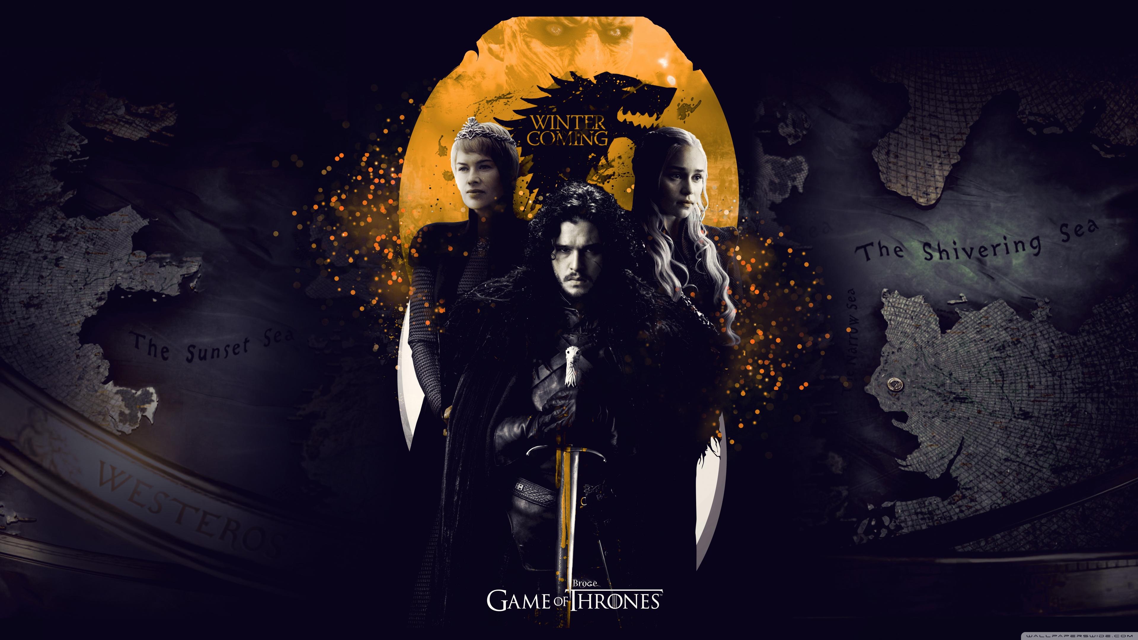 Game of Thrones 4K HD Desktop Wallpaper for 4K Ultra HD TV 3840x2160