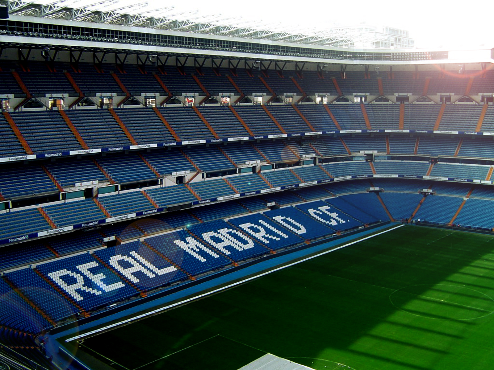 Central Wallpaper Real Madrid CF Logo HD Desktop Wallpapers 1600x1200