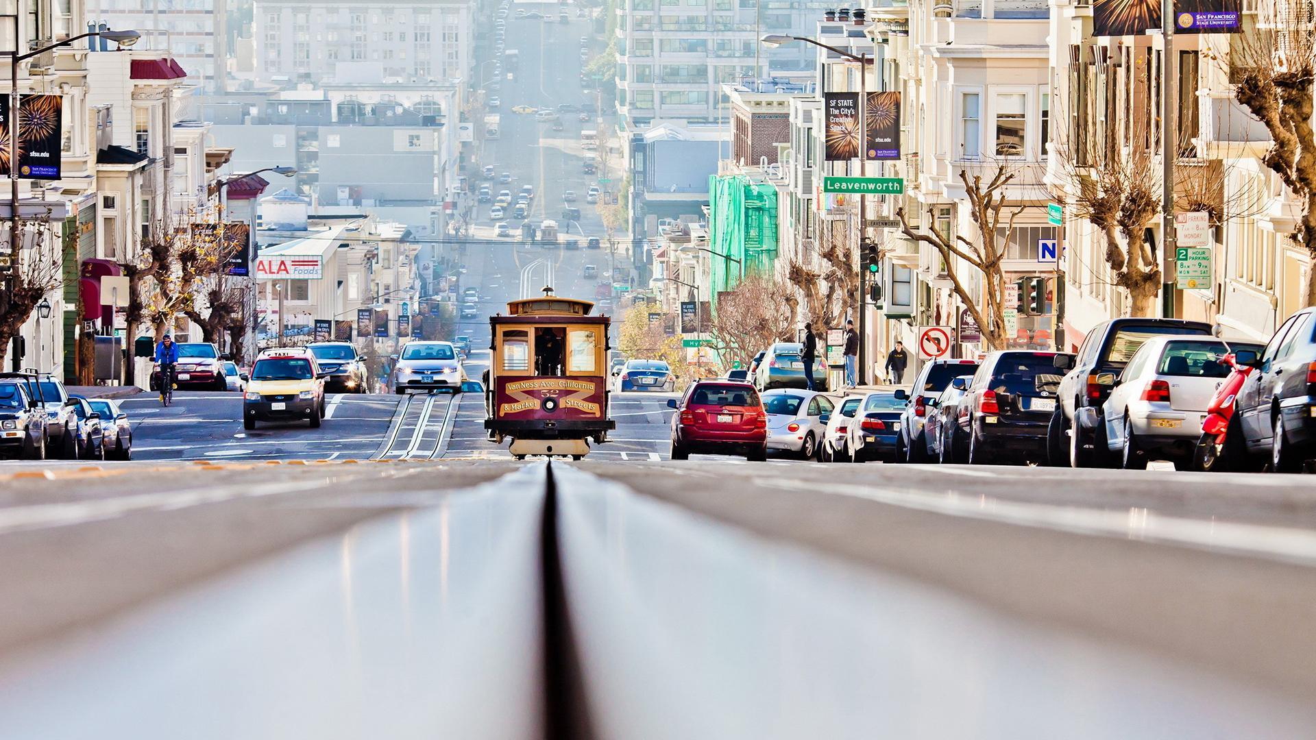 San Francisco Tram HD Wallpaper FullHDWpp   Full HD Wallpapers 1920x1080