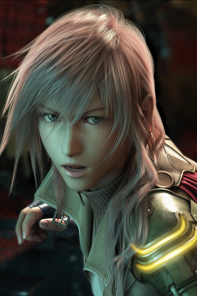 Final Fantasy XIII iPhone wallpaper 640x960 640x960