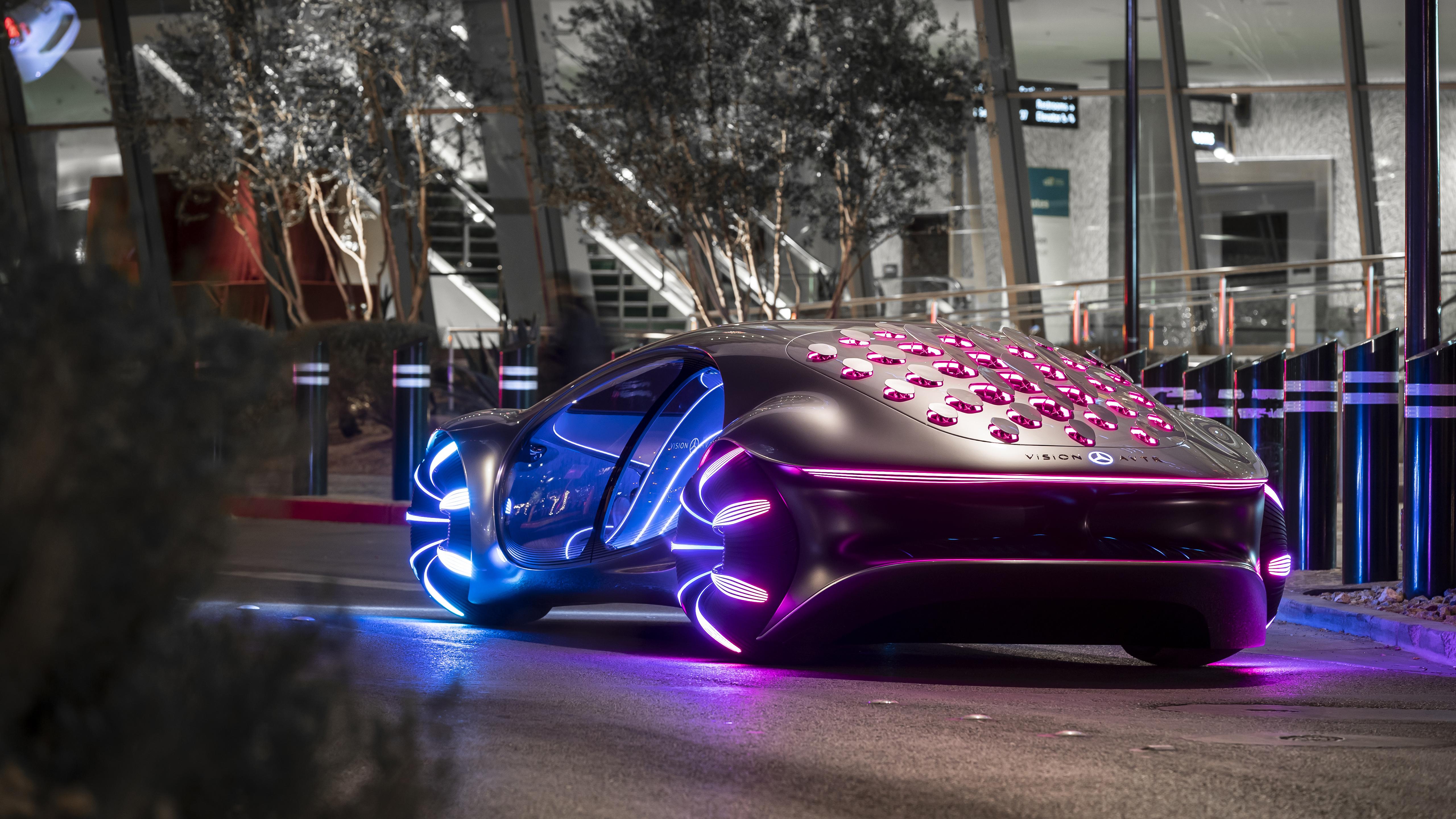 2020 Mercedes Benz VISION AVTR 5K 3 Wallpaper HD Car Wallpapers 5120x2880