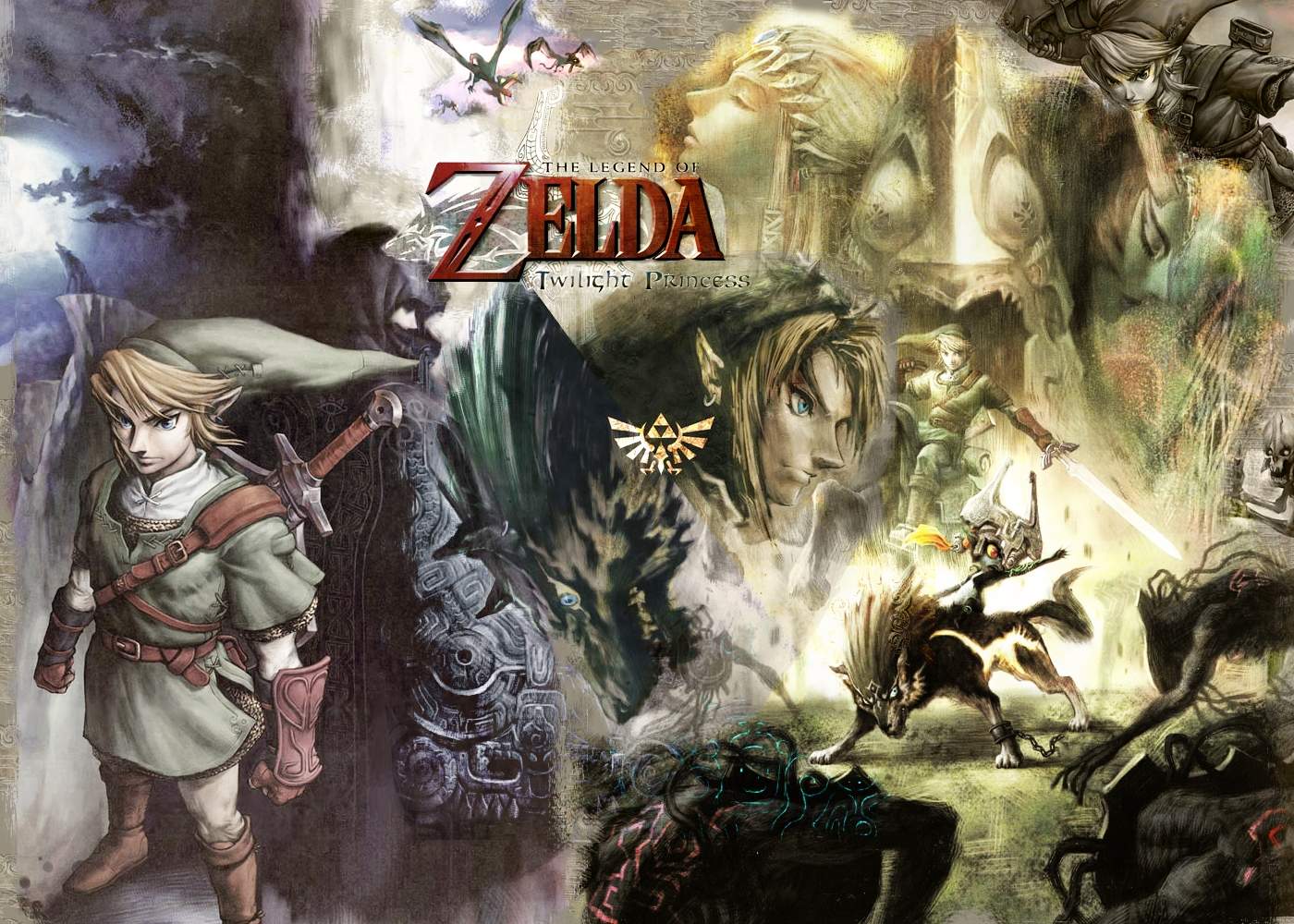 Princess Zelda Twilight Princess Wallpaper 1400x1000