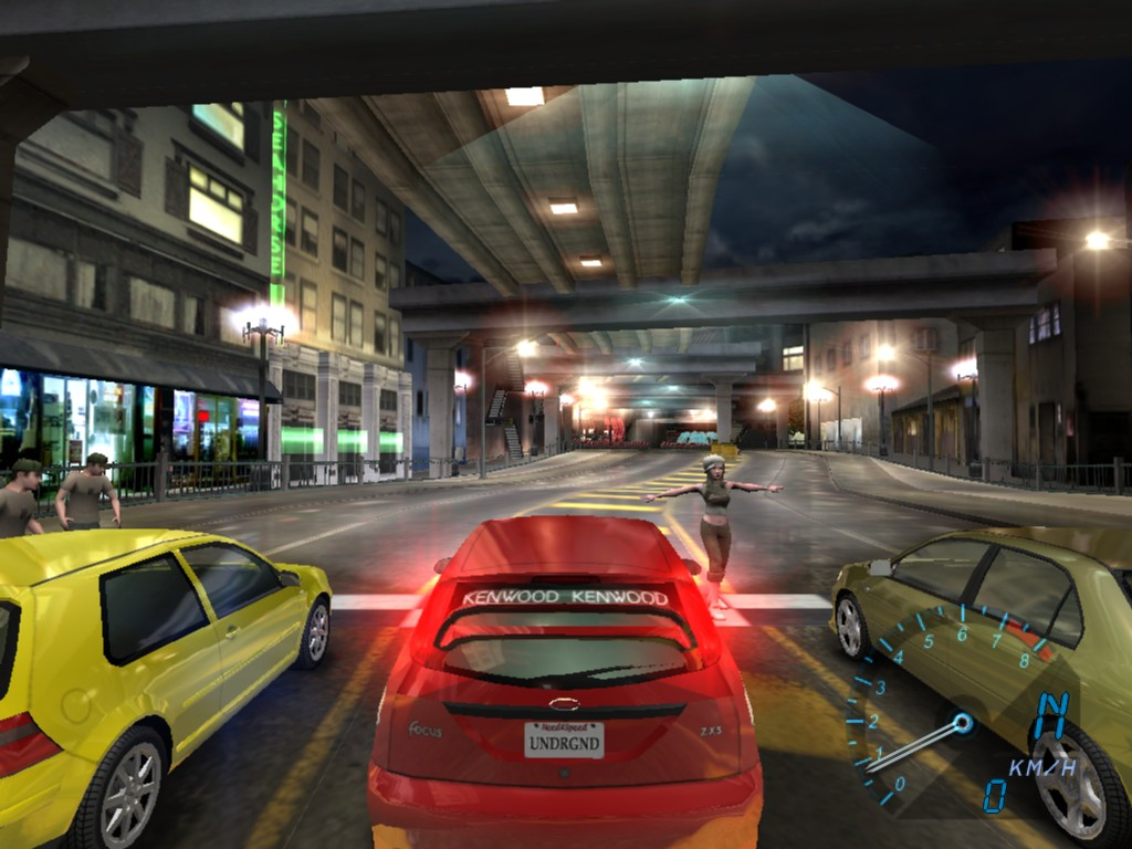 Need For Speed Underground Desktop Wallpapers for HD 1024x768