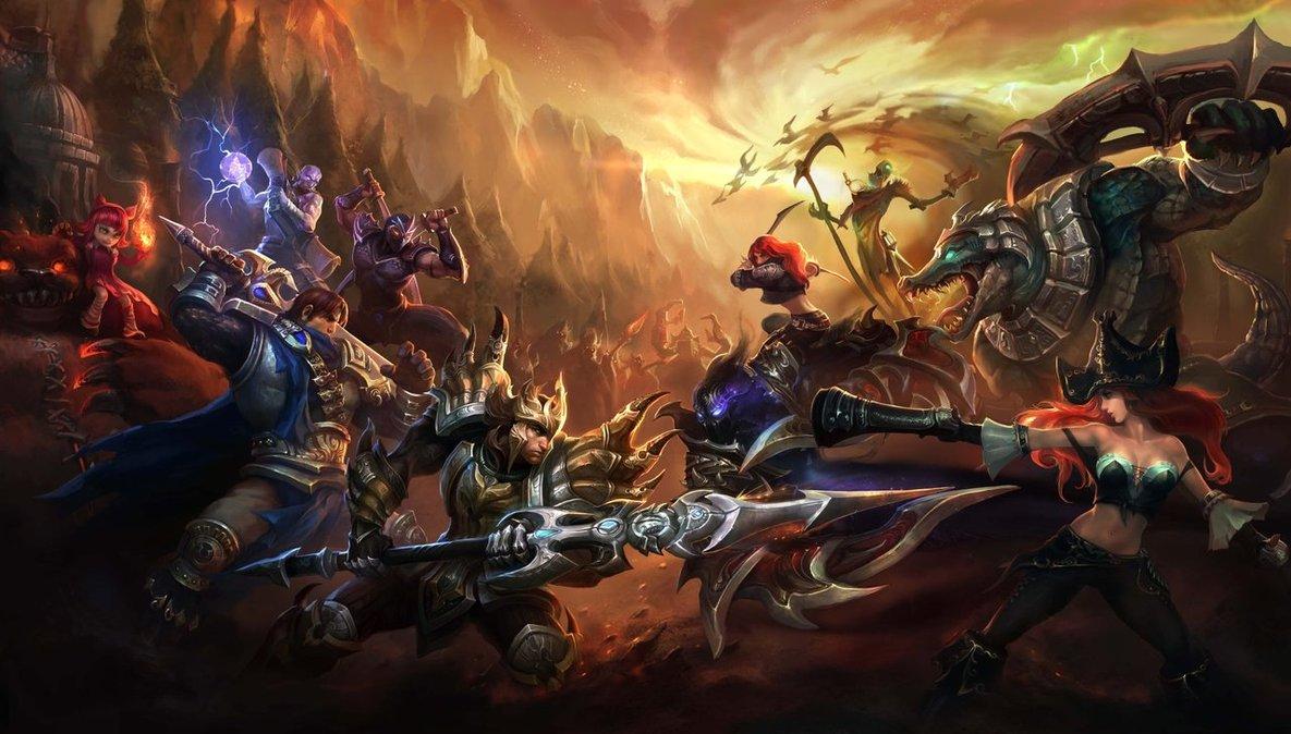 League of Legends Wallpaper Full HD by Arlen10 1185x674
