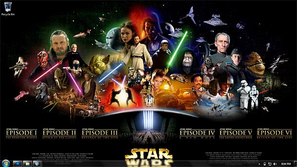 Ultimate Star Wars Theme for Windows 7 8 10   Theme Raider 610x343