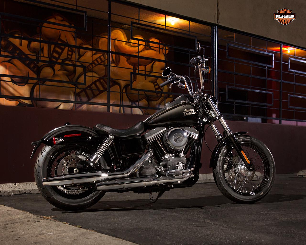 Harley Davidson Street Bob Wallpaper - WallpaperSafari