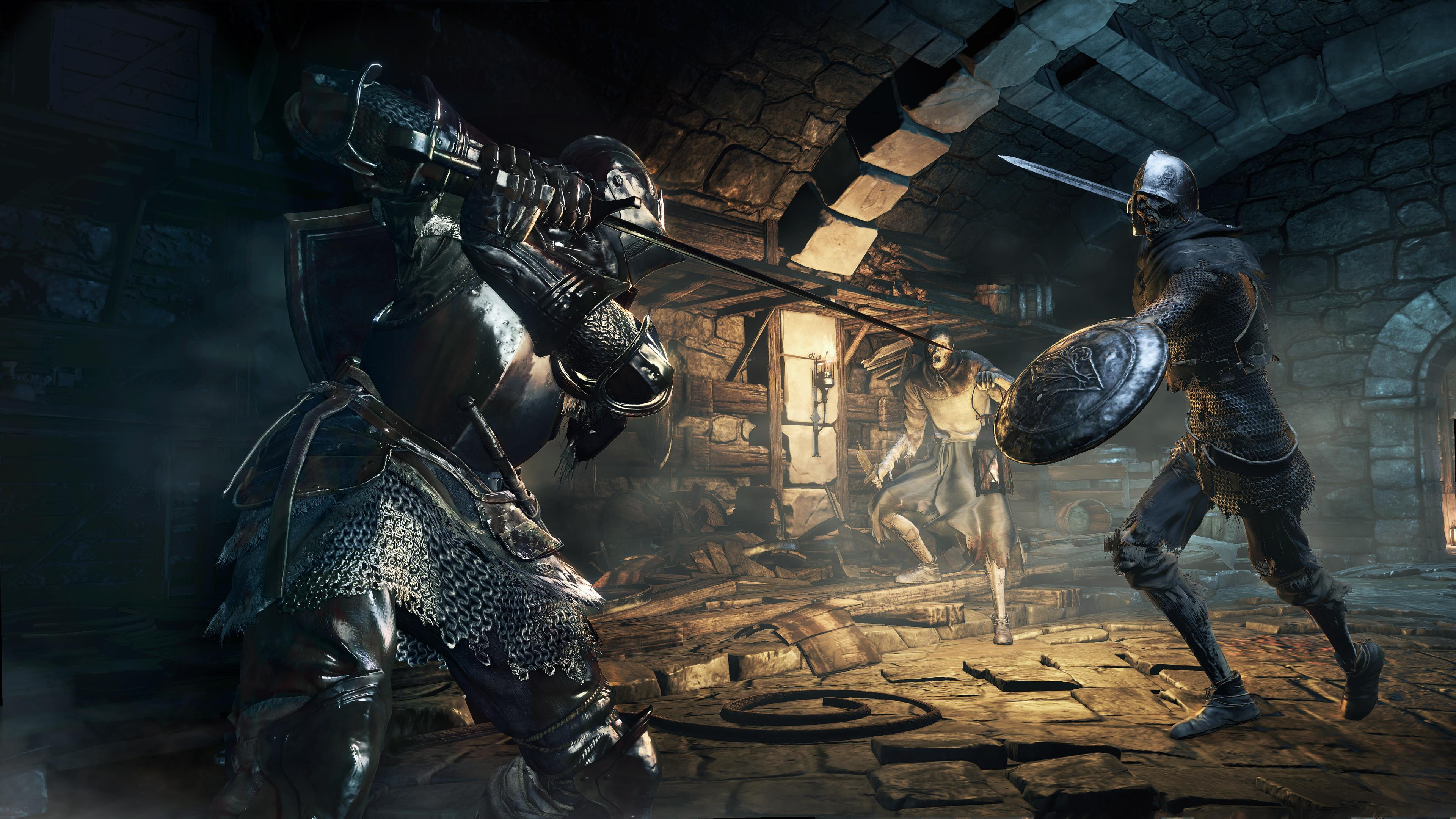 The new Dark Souls 3 screens are below followed by the artwork 3840x2160