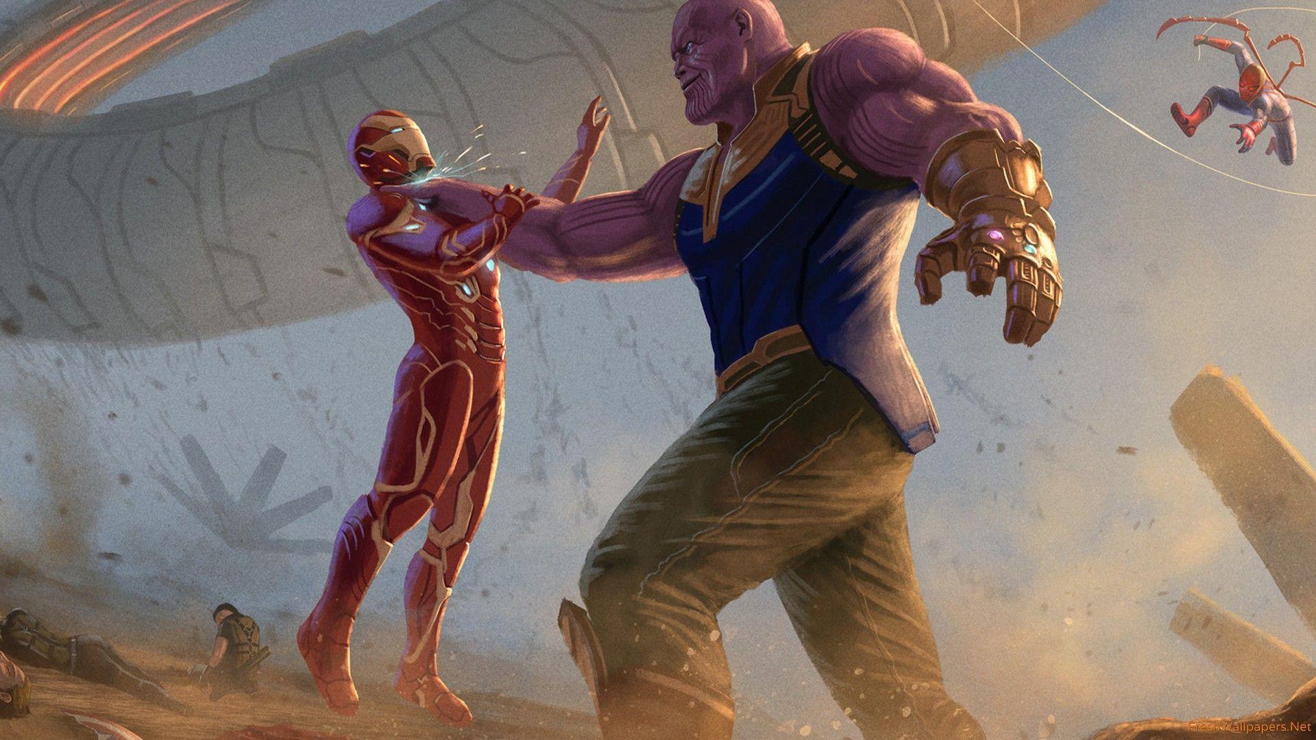 18 Iron Man Infinity War 4k Wallpapers On Wallpapersafari