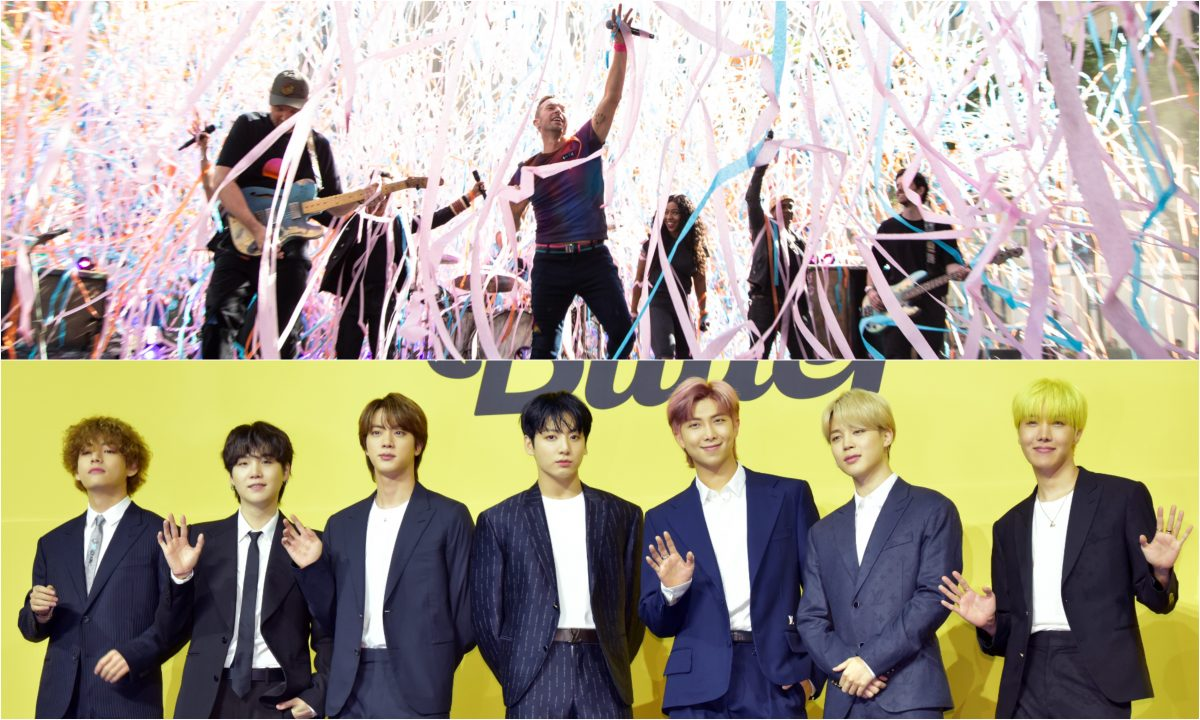 Coldplay and BTS Will Make a Music Video for My Universe 1200x720
