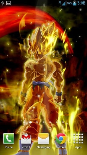 Download Goku Live Wallpaper for Android by BB LWPs Appszoom 288x512