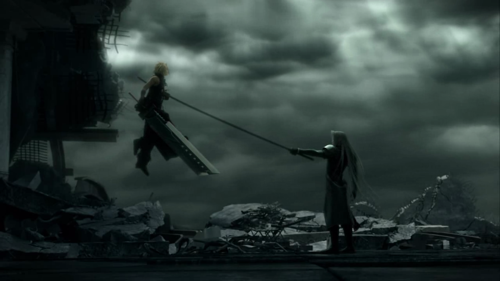Cloud vs Sephiroth   Final Fantasy VII Image 19936767 1024x576