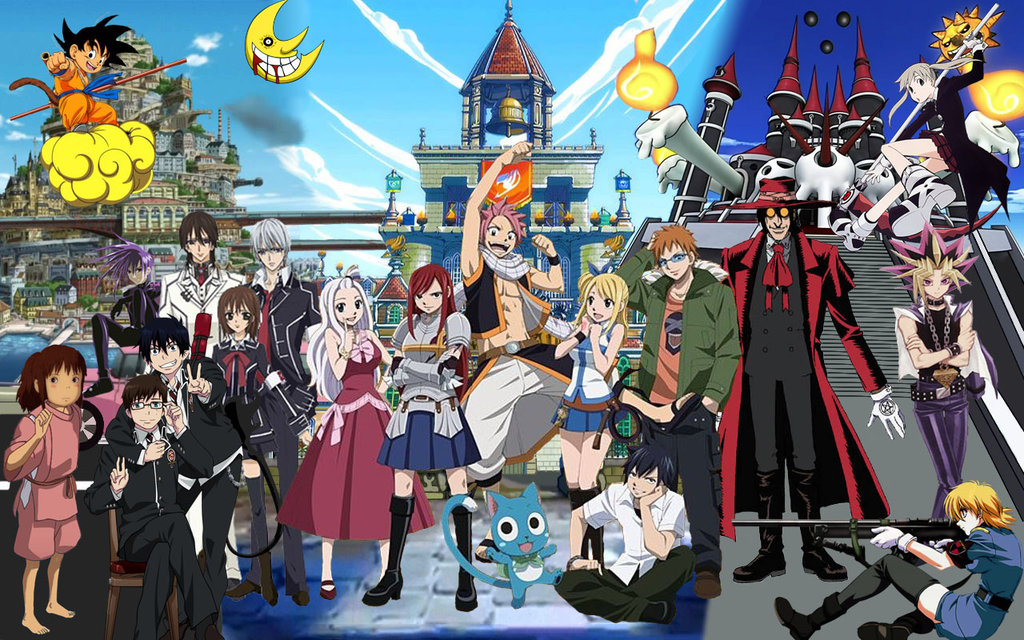Mass Group Anime Wallpaper by DinstruMental 1024x640