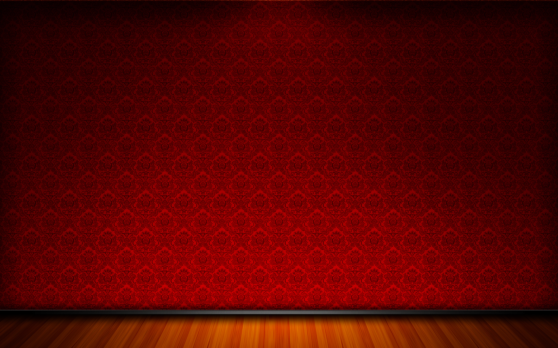 Wallpapers Room Red Classique Wallpaper Side7 House 1920x1200