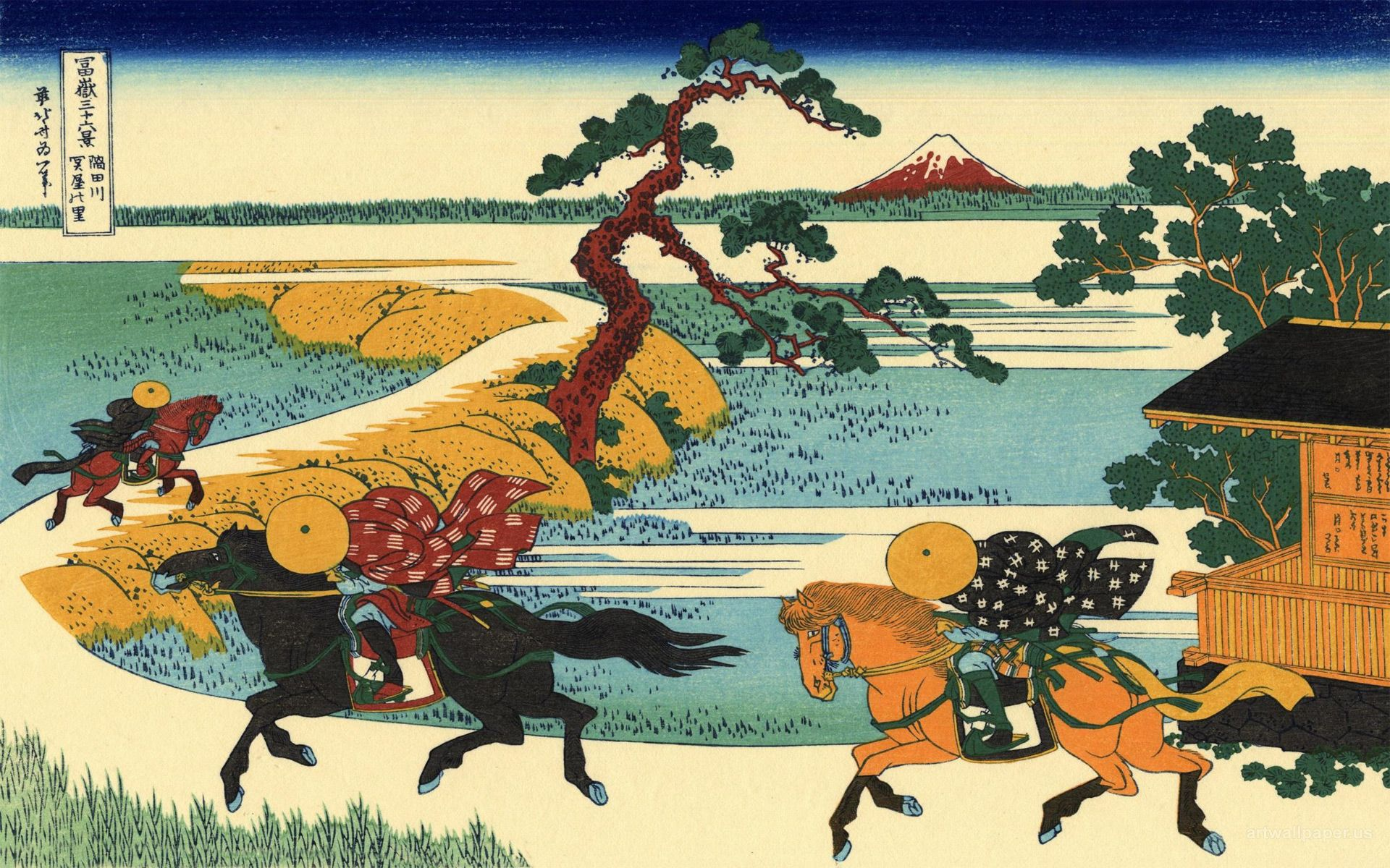 Hokusai Wallpaper Hokusai Katsushika Wallpapers ART   JAPANESE 1920x1200