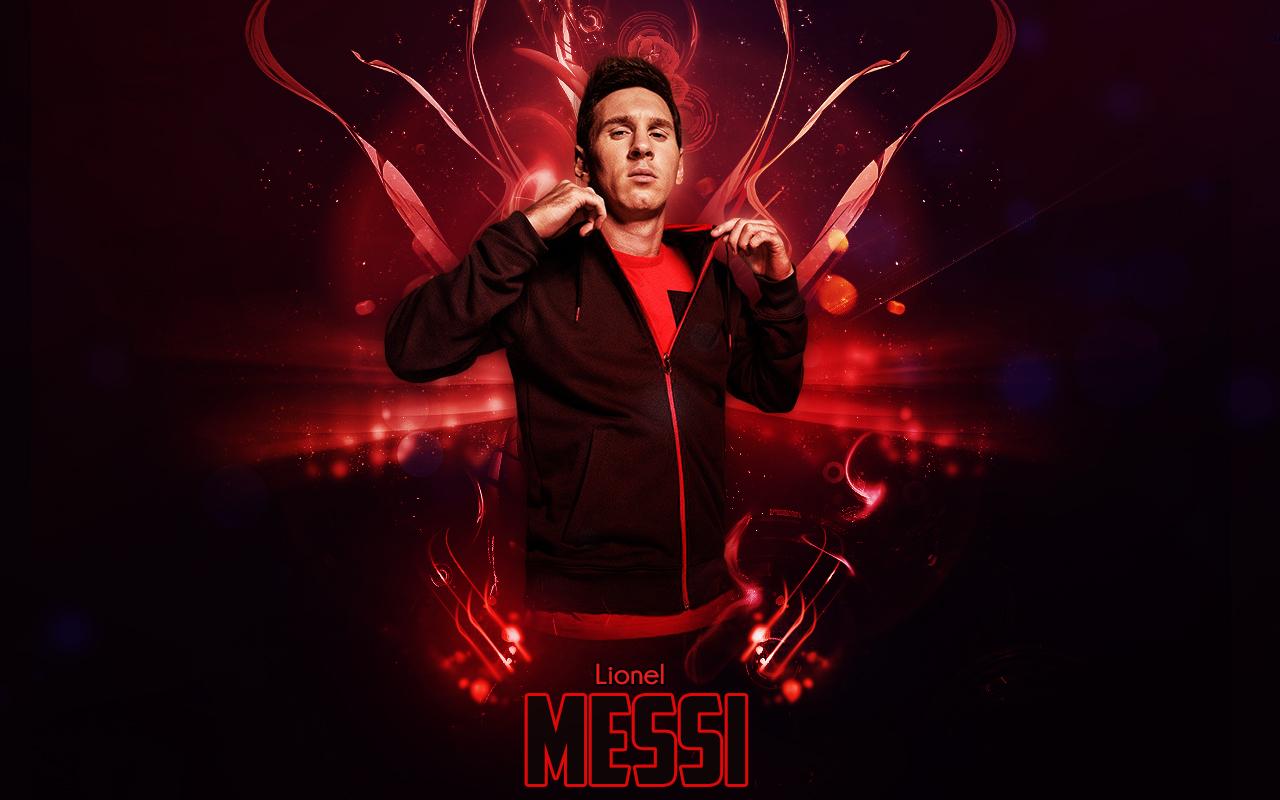 Lionel Messi 20142015 Wallpaper by RakaGFX 1280x800