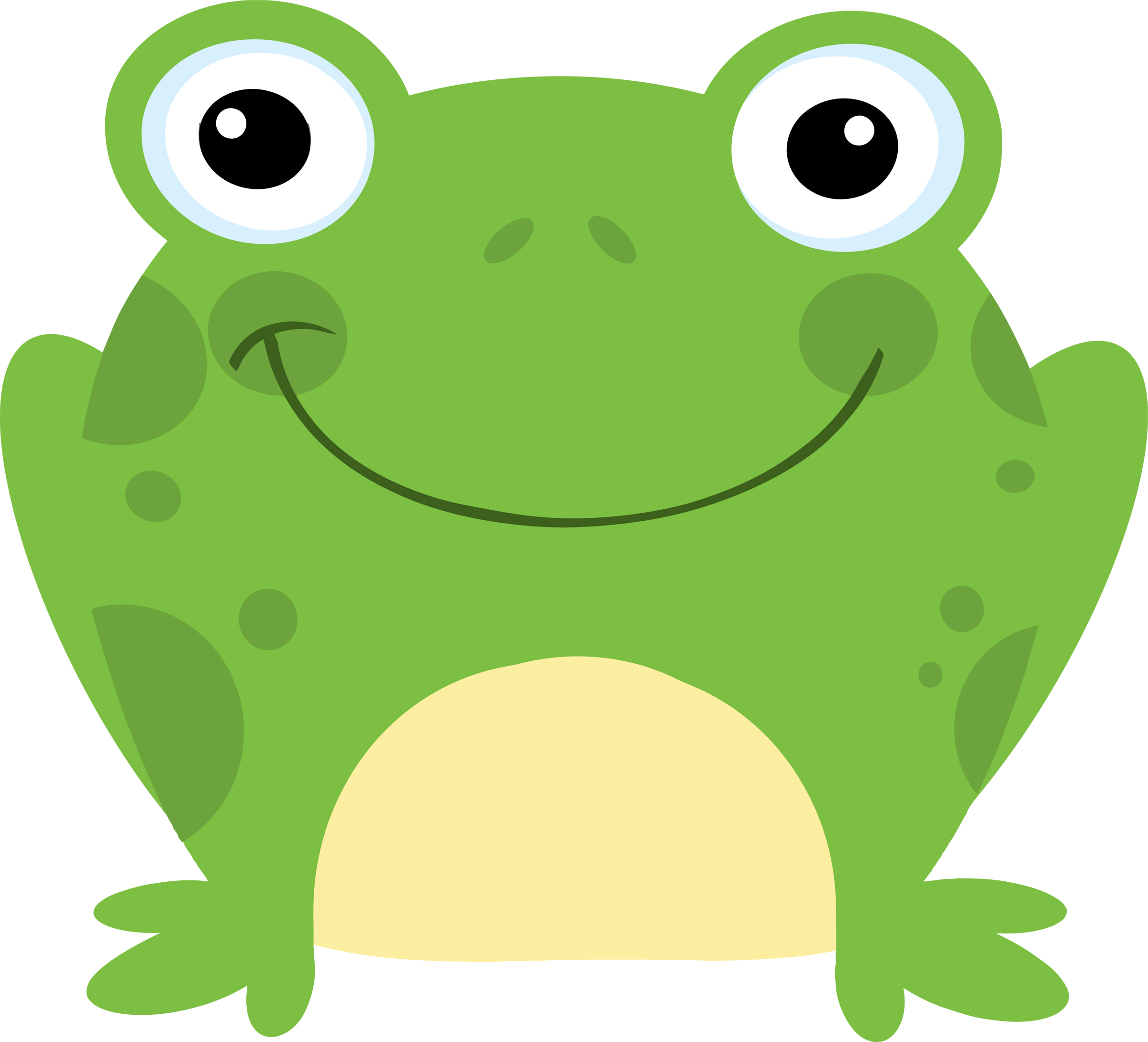 Cartoon Frog Pictures 2400x2179