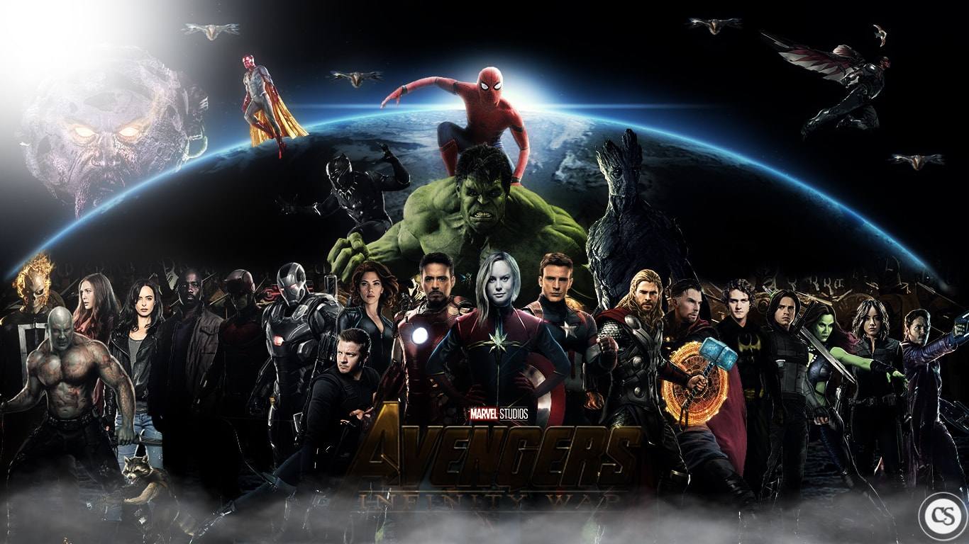 Avengers Infinity War Wallpaper Mac 1366x768
